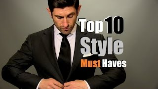 Download Top 10 Men's Style Must Haves | Men's Style Staples Video