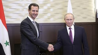 Download Assad, Putin meeting could mean end of Syrian war is close ‒ anti-war activist Video