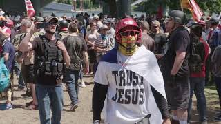 Download Patriot Prayer, Antifa, and Cops - Portraits- Aug 4 2018 Video