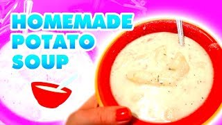 Download Homemade Potato Soup ~ Large Family Style! Video