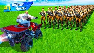 Download CAN 1,000 BOTS STOP a VEHICLE in Fortnite Battle Royale Video