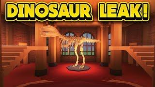 Download NEW DINOSAUR MUSEUM LEAK! (ROBLOX Jailbreak) Video