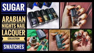 Download *NEW*Sugar Tip Tac Toe Nail Lacquers | Arabian Nights collection | swatches Video