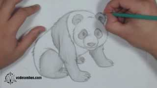 Download Como desenhar Panda Realista Video