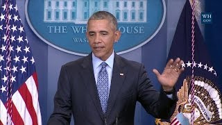 Download President Obama Holds his Final Press Conference Video