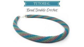 Download Bead crochet tutorial | Double (UK) Crochet | Bead double (UK) crochet tutorial Video