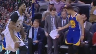 Download Stephen Curry Gets High Five From Pelicans Bench! Warriors vs Pelicans Video