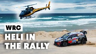 Download Crazy Helicopter Skills In The Best Rally Places | WRC 2019 Video