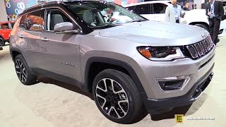 Download 2017 Jeep Compass Limited - Exterior and Interior Walkaround - Debut at 2016 LA Auto Show Video