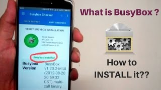Download What Is BusyBox ? How To INSTALL BusyBox on Any Android Device (ROOT) 2017 latest Video