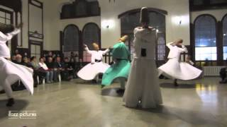 Download SUFI DANCE OF WHIRLING DERVISHES IN ISTANBUL TURKEY Video