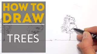 Download How to Draw a Tree with a Pen Video