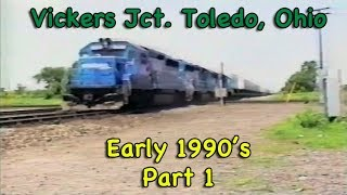 Download Jon B. Rails Video - Part 1 - Vickers Jct. Compilation early 1990's RE-MASTERED Video