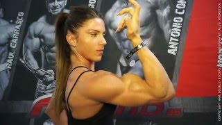 Download Anastasia Papoutsaki fresh face in the women's physique industry Video