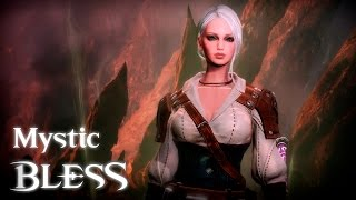 Download Bless - Mystic Low Level Gameplay - Flying Mount - F2P - KR Video
