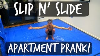 Download SLIP 'N' SLIDE APARTMENT PRANK! Video