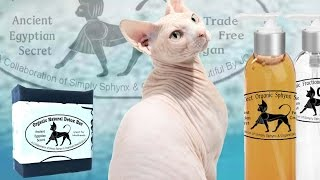 Download Simply Sphynx Cat Spa Day 3 Bath with Simply Sphynx Skin System - new branding and bottles in store! Video