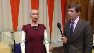 Download Interview with Sophia the robot Video