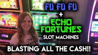 Download Trying out Fu Fu Fu and Echo Fortunes! Slot Machines for the First Time! Video