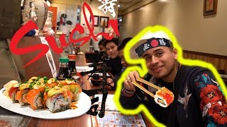 Download EATING SUSHI WITH JESUS ORTIZ! Video