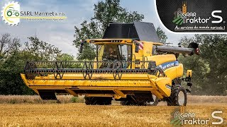 Download Moisson D'orge 2018 | New Holland CR 8.90 & New Holland Varifeed | SARL Marmet Video