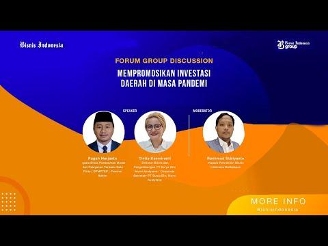Diskusi Bisnis Indonesia: Mempromosikan Investasi Daerah di Masa Pandemi