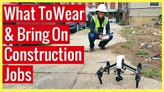 Download What to Wear and Bring on a Construction Drone Job Video