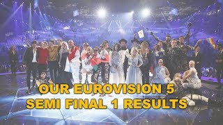 Download OUR EUROVISION 5: SEMI FINAL 1 RESULTS (13 QUALIFIERS) Video