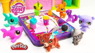 Download MLP Twilight Sparkle's Playdoh Art Class - My Little Pony LPS Students Shopkins Season 3 Video Play Video