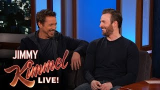 Download Chris Evans and Robert Downey Jr. Filmed in Hotlanta Video