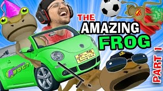 Download BEST GAME EVER! The Amazing Frog that Farts Part 1 w/ FGTEEV Duddy (I Stole a Cop!) HA HA HA Video