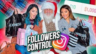 Download We Let our Instagram Followers Control our Christmas Shopping...Niki and Gabi Video