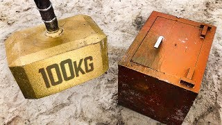 Download Can THOR'S HAMMER Break Into a 250KG SAFE? Video