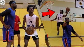 Download Dwyane Wade TRAINS HIS SON Zaire!! Throwing LOBS To Each Other! INTENSE NBA WORKOUT! Video