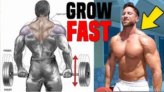 Download 3 Trap Exercises You're Not Doing For FAST MASS! Video