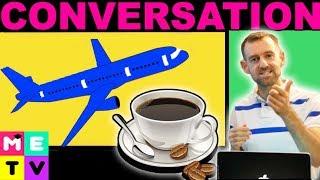 Download English Airplane Conversation Video