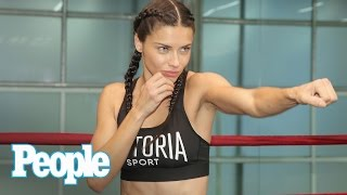Download Victoria's Secret Fashion Show: Adriana Lima's Workout | We Tried It | People Video