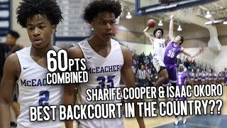 Download Meet The MOST EXCITING Backcourt In The COUNTRY!! Sharife Cooper & Isaac Okoro GO CRAZY Drop 60 PTS! Video