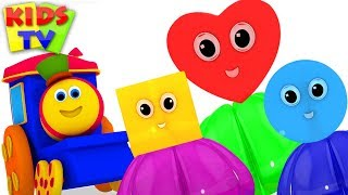 Download Learn Colors & Shapes with Bob Fun Series | Preschool Learning Videos for Kids Video