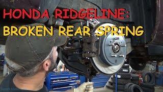 Download Honda Ridgeline: Broken Rear Spring Video