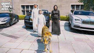 Download GTA 5 REAL LIFE PRINCE OF DUBAI MOD #2-BUYING A TIGER! Video