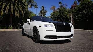 Download Here in my garage, custom Rolls Royce Wraith! Video
