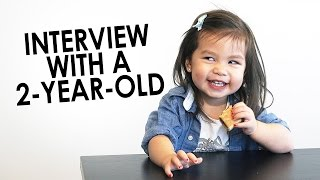 Download Interview With A 2 Year Old - Julianna & SeanThinks Video