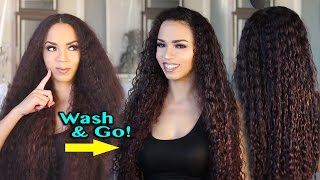 Download Wash and Go Natural Hair Routine - 1 Product Wash and Go Routine Video