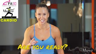 Download Cardio Basic Heart rate Happy - Vanessa Gospel - Move123 Video