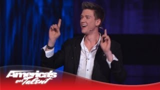 Download Collins Key - Using Magic to Get a Date in NYC - America's Got Talent Semi-Finals 2013 Video
