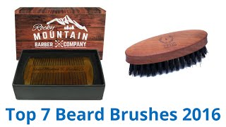 Download 7 Best Beard Brushes 2016 Video