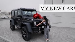 Download MY NEW CAR || MERCEDES G500 4×4²!! Video