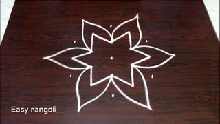 Download easy rangoli designs with 5x3 dots || chukkala muggulu designs with dots || kolam designs Video