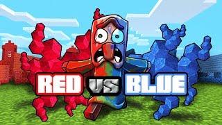 Download Minecraft | RED VS BLUE BACTERIA WARS CHALLENGE! (Minecraft vs Plague) Video